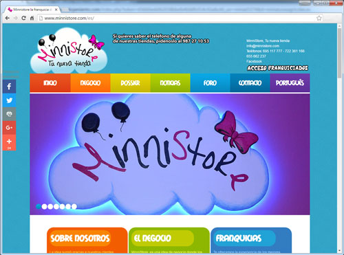 Paginas web - Qinamical
